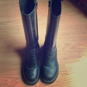 Acme knee high boots